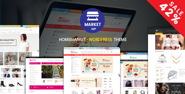 HomeMarket v1.0.5 — eCommerce WP Theme for WooCommerce