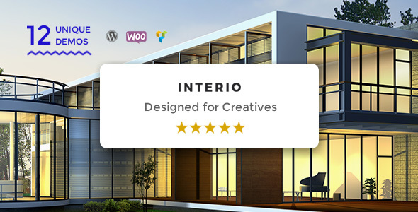 Interio v1.2 — WordPress Architecture Theme