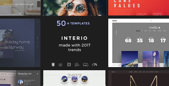 Interio — HTML Creative Agency