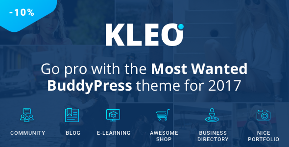 KLEO v4.2.11 – Next level WordPress Theme