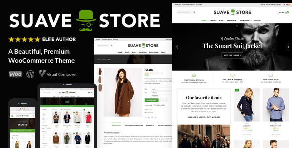 Suave v1.8.5 — Multi-Purpose WooCommerce Theme
