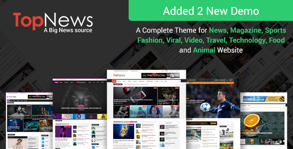 TopNews v3.0.1 — News Magazine Newspaper Blog Viral & Buzz
