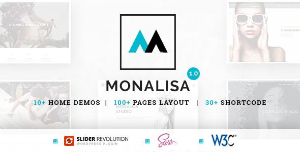 Monalisa — Business HTML Template