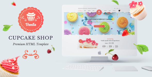 Bakery — Vanila Cakery & Bakery HTML5 Template