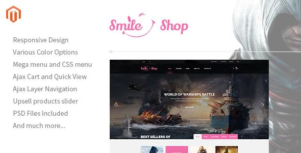Smileshop — Multipurpose Responsive Magento Theme
