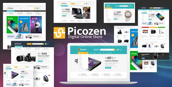 Picozen — Responsive Magento 2 Theme