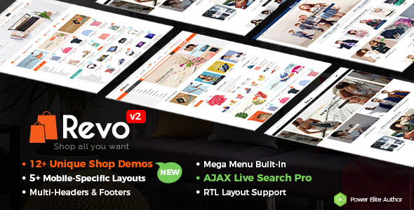 Revo v2.1.0 — Multi-Purpose Responsive WooCommerce Theme