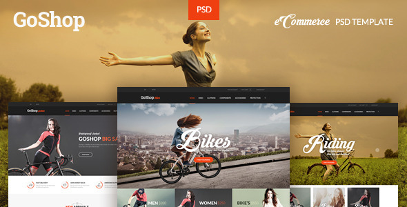 GoShop — eCommerce PSD Template