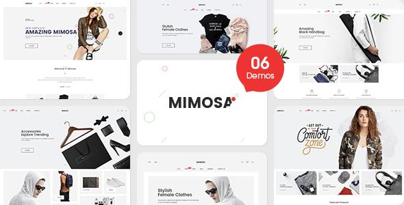 Mimosa — Responsive Fashion Opencart 3 Theme