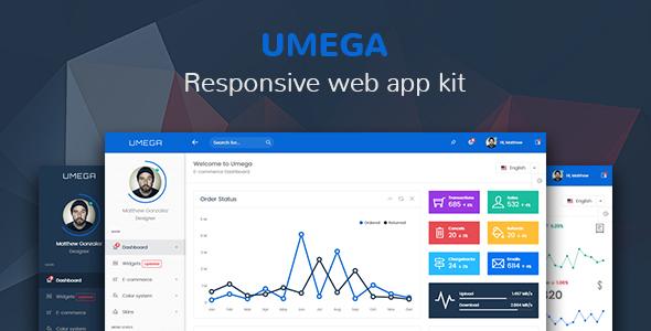 Umega — Responsive Web App Kit