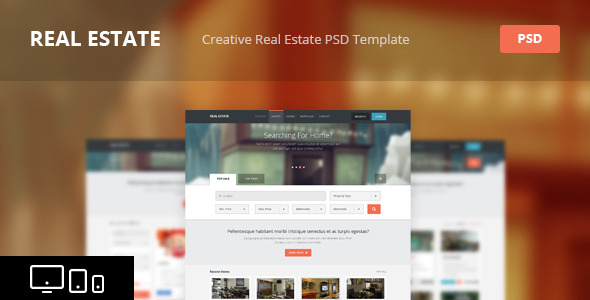 Real Estate — Creative PSD Template