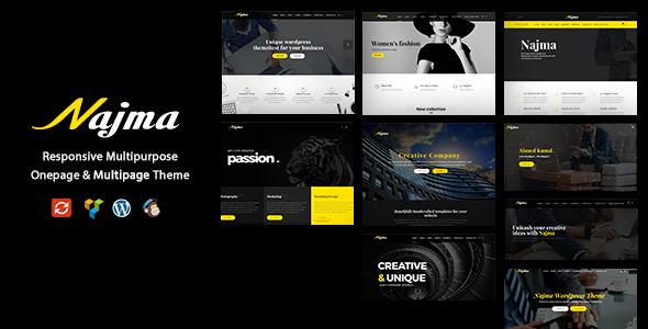 Najma — Creative Multi-Purpose WordPress Theme