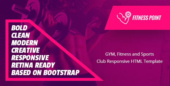 Fitness Point — Gym, Fitness and Sports Club Responsive HTML Template