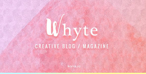Whyte v1.4.1 — Creative WP Theme