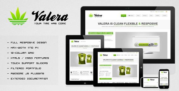 VALERA v1.5 — Responsive HTML Template