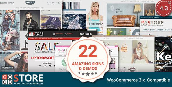 GoodStore v4.3 — WooCommerce Theme