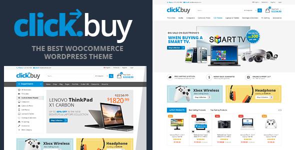 Clickbuy v1.3.3 — WooCommerce Responsive Digital Theme