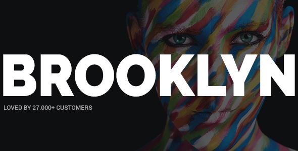 Brooklyn v4.5.3.1 — Creative Multi-Purpose WordPress Theme