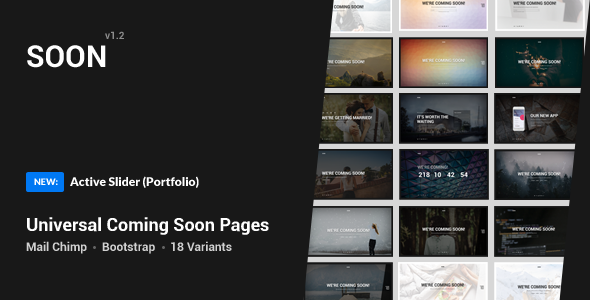 Coming Soon Template v1.3
