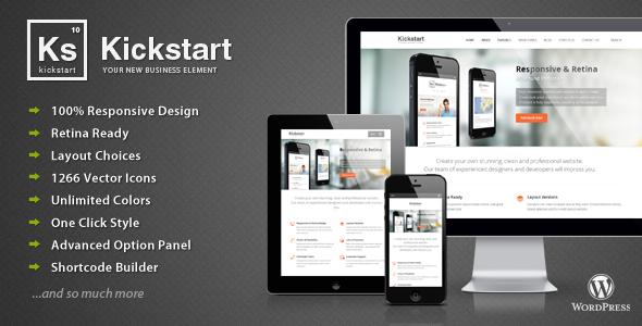 Kickstart v2.8.6 — Retina Responsive Multi-Purpose Theme