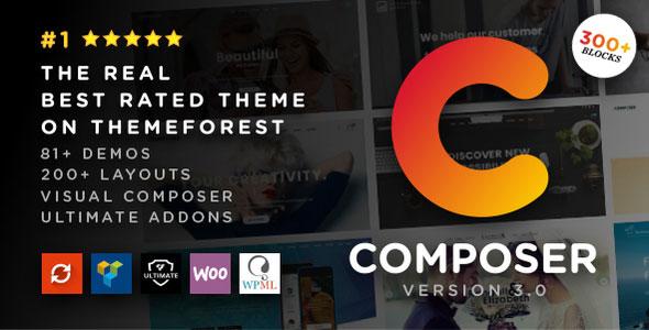 Composer v3.0.4 — Responsive High-Performance Theme