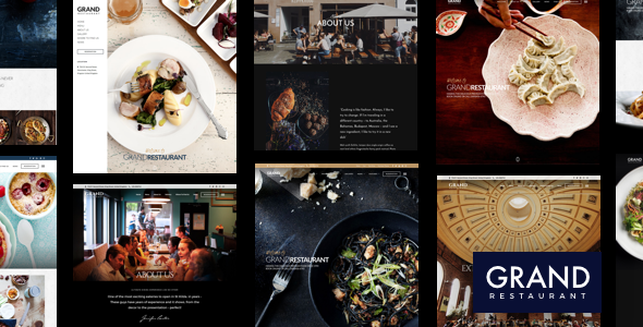 Grand Restaurant v3.7.3 — Restaurant Cafe Theme