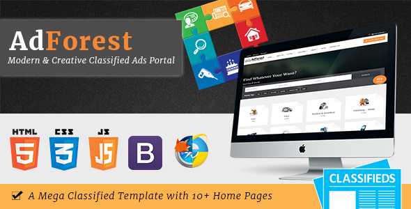 AdForest v3.0 — Largest Classified Marketplace Ads Template + RTL