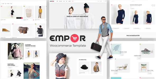Empor — eCommerce, Shop Template