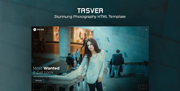 Photography & Magazine Template   Tasver Photography