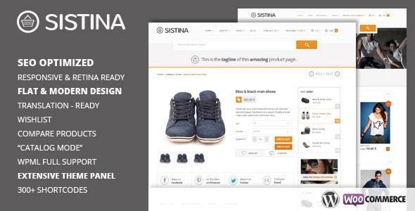 Sistina v2.1.0 — Flat Multipurpose Shop Theme