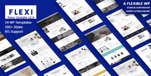 Flexi v2.6 — Flexible WordPress Theme