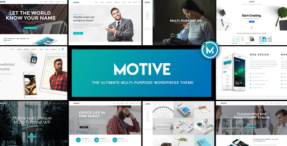 Motive v1.0.2 — Multi-Purpose WordPress Business Theme