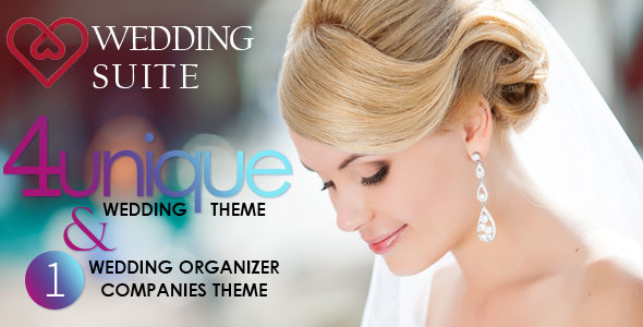 Wedding Suite v2.6.0 — WordPress Wedding Theme