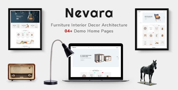 Nevara — Responsive Furniture & Interior Magento 2 Theme