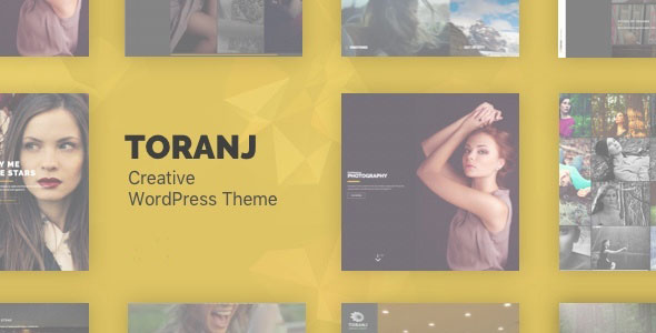 Toranj v1.16.0 — Responsive Creative WordPress Theme