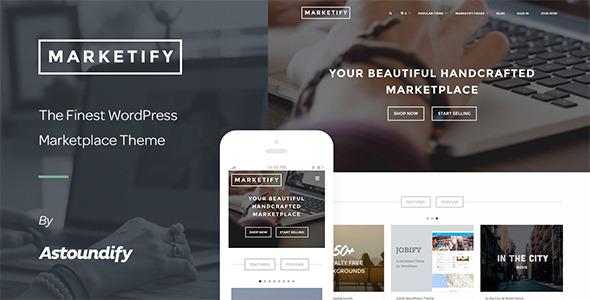 Marketify v2.12.0 — Marketplace WordPress Theme