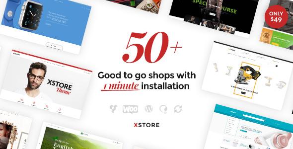 XStore v4.8 — Responsive WooCommerce Theme