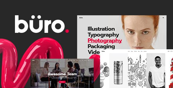 Büro v1.0 — Ultimate Agency and Freelancer Theme