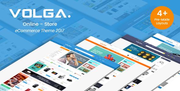 Volga v1.0 — MegaShop Responsive Opencart 2.3 & 3.x Theme