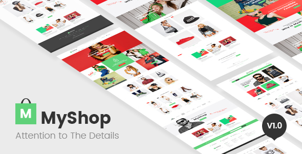 MyShop — multi layout fashion OpenCart theme