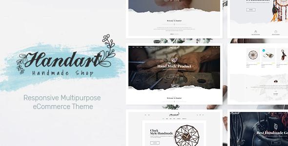 HandArt — Opencart 3 Theme for Handmade Artists and Artisans