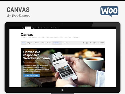 Canvas v5.11.7 — Woothemes WordPress Theme