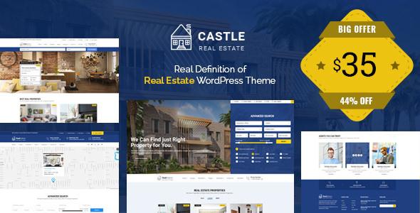 Castle v1.0.0 — Real Estate WordPress Theme