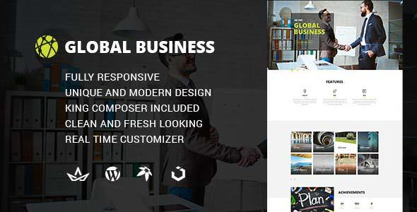 GB v1.0 — Multipurpose Global Business, Corporate, Portfolio Theme