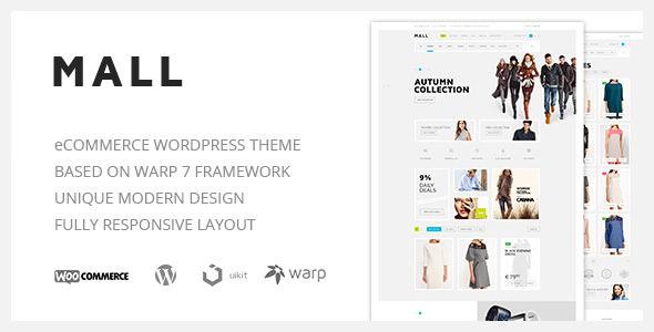 Mall v1.1.3 — Clean Multi-Purpose WooCommerce Theme