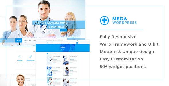 Meda v1.0.1 — Health and Medical Responsive Theme