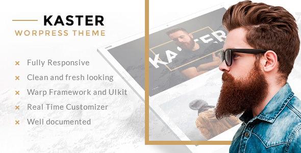 Kaster v1.0.2 — Creative, Blog, Portfolio WordPress Theme