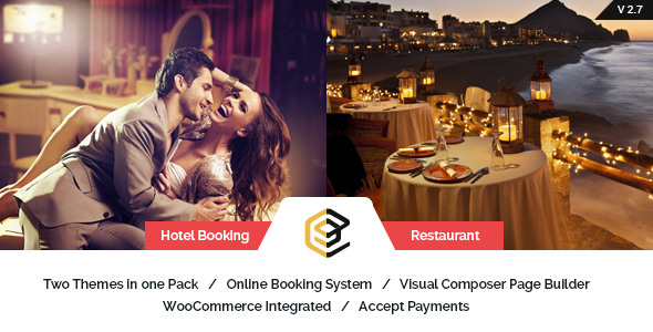 Pearl v2.7 — Restaurant and Hotel WordPress Theme