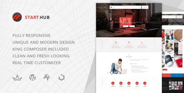 StartHub v1.0.1 — Clean Multipurpose Business/Corporate/Blog Theme