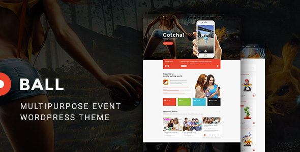 Ball v1.0.0 — eSports / Gaming / Portfolio WP Theme